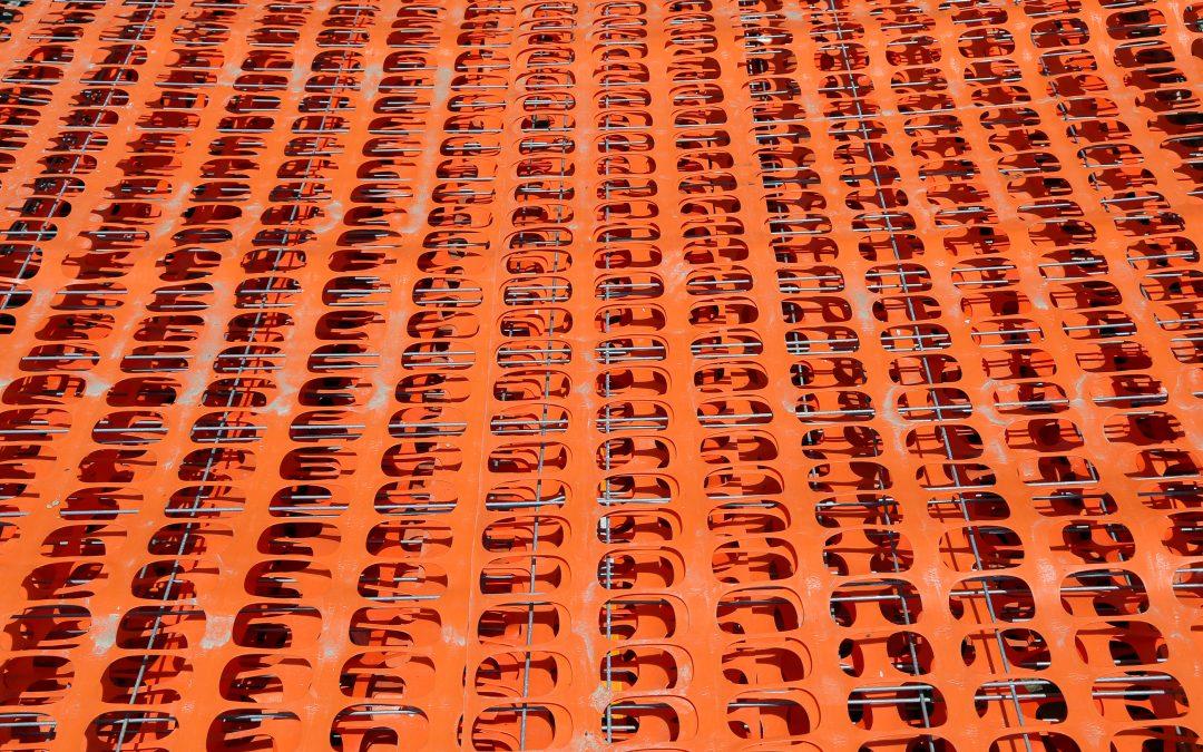 Orange Fence Arlington Heights